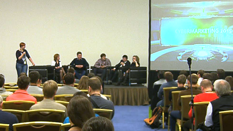 Конференция CyberMarketing-2015. Круглый стол. Где брать трафик?